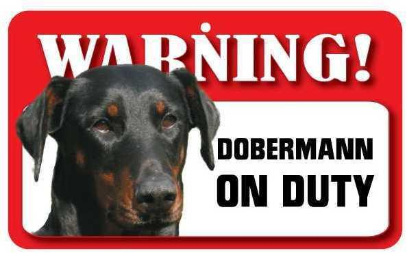 DS027 Dobermann Pet Sign