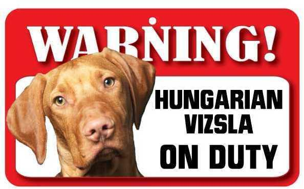 DS037 Hungarian Vizsla Pet Sign