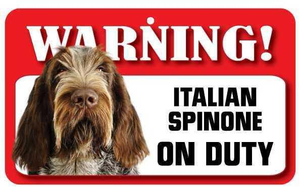 DS040 Italian Spinone Pet Sign