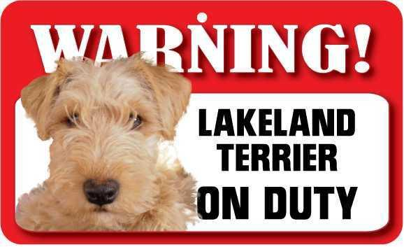 DS046 Lakeland Terrier Pet Sign