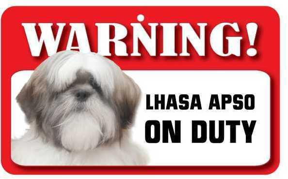 DS048 Lhasa Apso Pet Sign