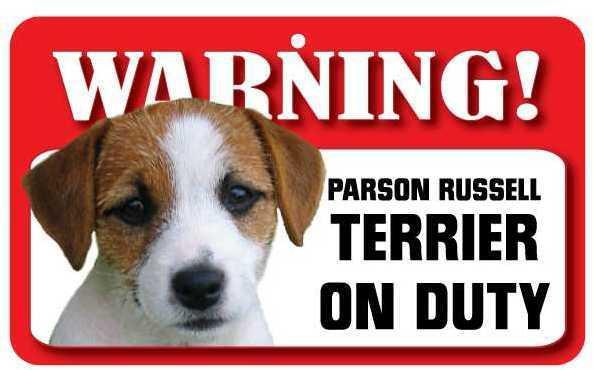 DS055 Parson Russell Terrier Pet Sign