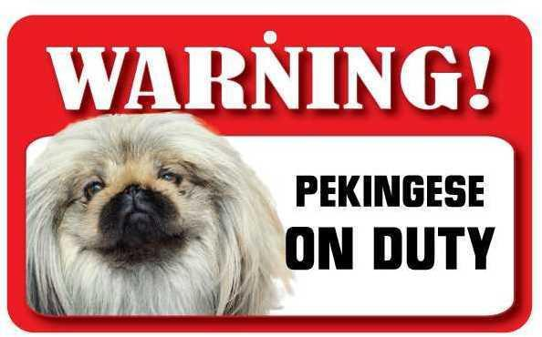 DS056 Pekingese Pet Sign