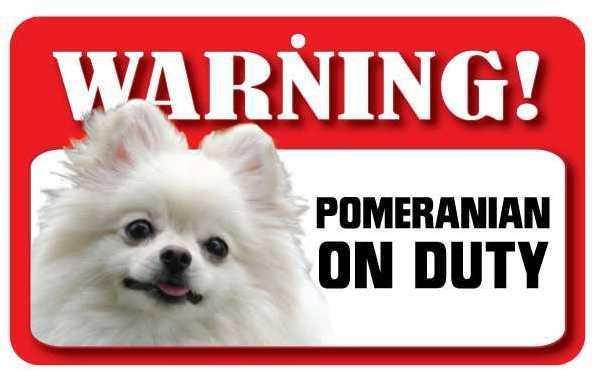 DS058 Pomeranian Pet Sign