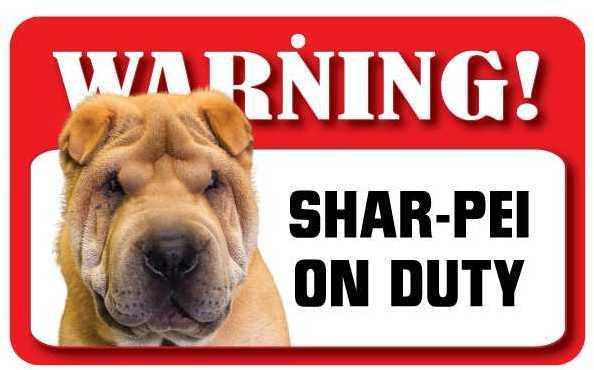 DS069 Shar-Pei Pet Sign