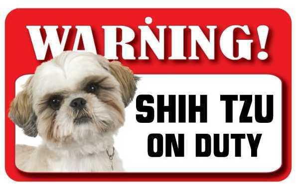 DS071 Shih Tzu Pet Sign