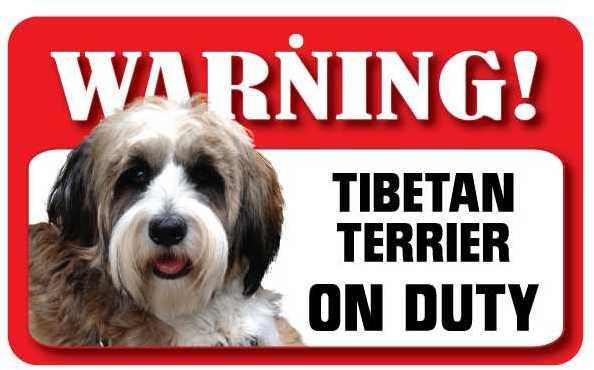 Pet Dog Signs - Warning