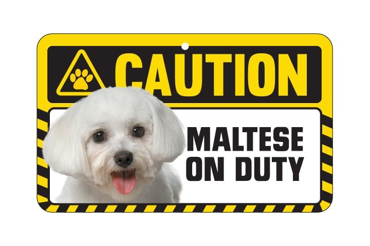 Maltese Caution Sign