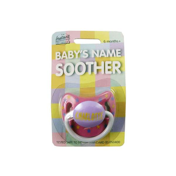 DUM019 Personalised Children's Dummy - Charlotte