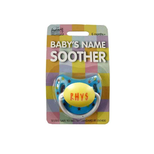 DUM096 Personalised Children's Dummy - Rhys