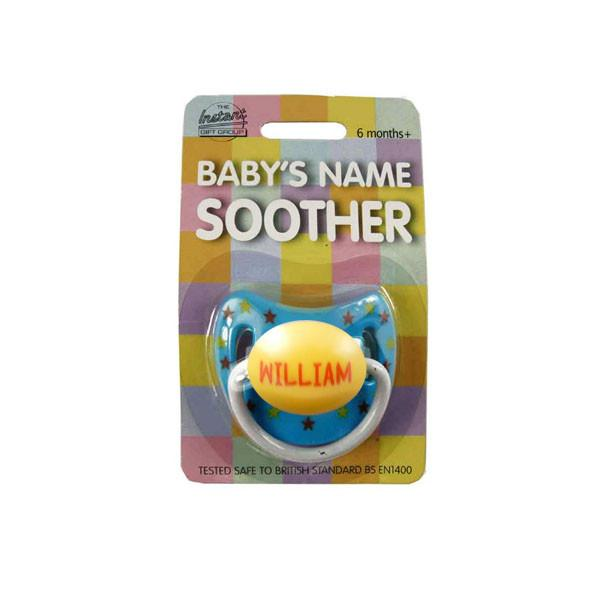 DUM108 Personalised Children's Dummy - William