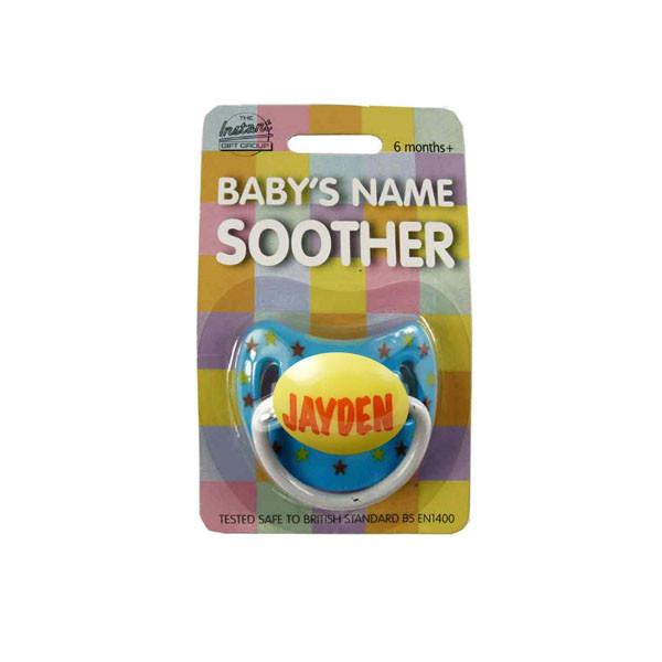 DUM153 Personalised Children's Dummy - Jayden