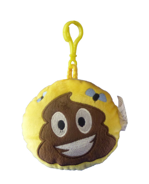 Emotives Round Plush Bag Tag - 11cm