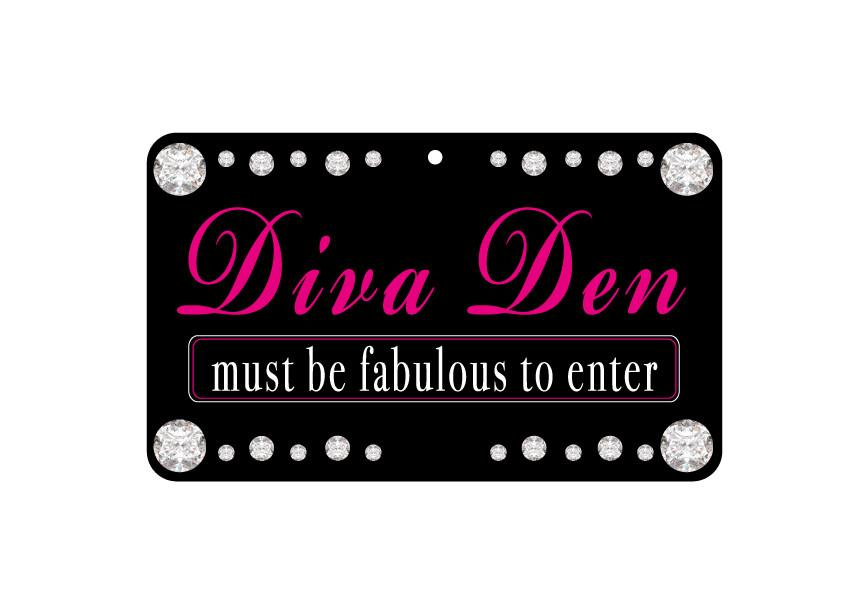 FN089 Fun Sign - Diva Den