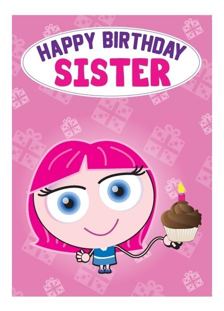 Birthday Card - Sister