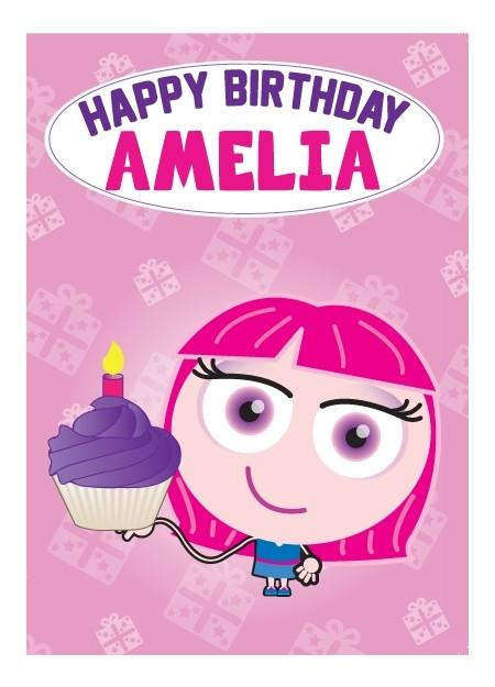 Birthday Card - Amelia