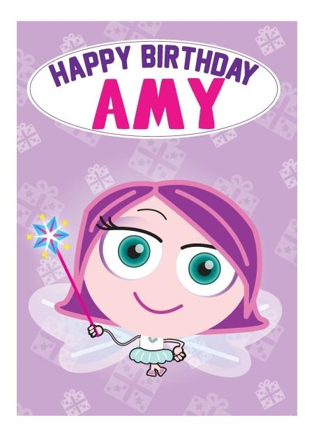 Birthday Card - Amy