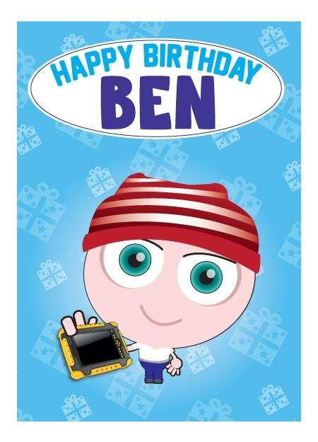 Birthday Card - Ben