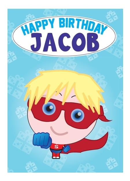 Birthday Card - Jacob