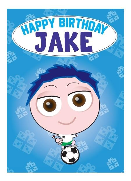 Birthday Card - Jake