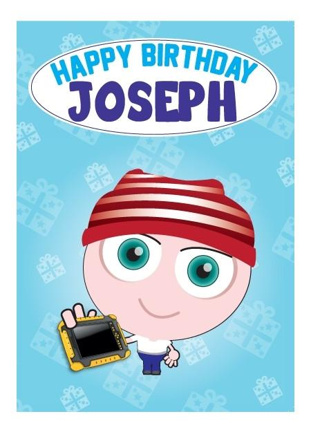 Birthday Card - Joseph