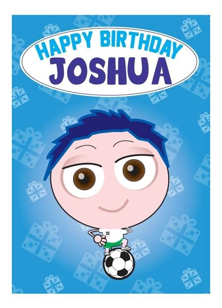 Birthday Card - Joshua