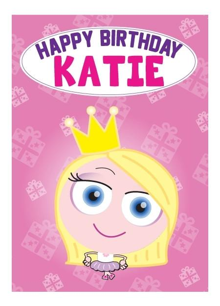 Birthday Card - Katie