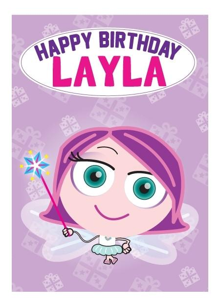 Birthday Card - Layla