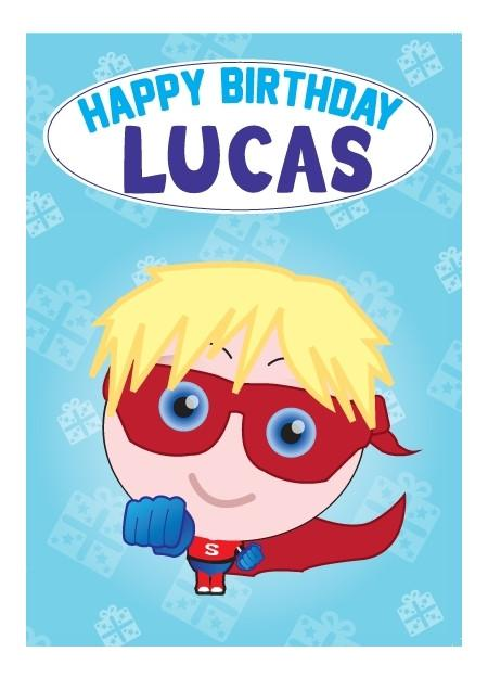 Birthday Card - Lucas