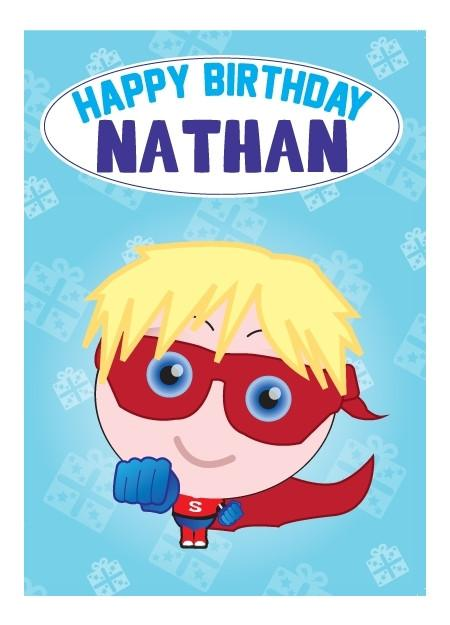 Birthday Card - Nathan