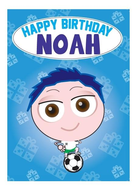 Birthday Card - Noah