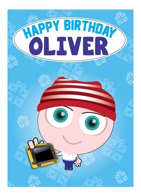 Birthday Card - Oliver