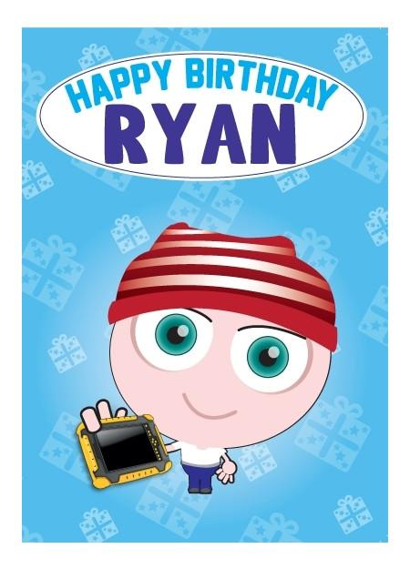 Birthday Card - Ryan