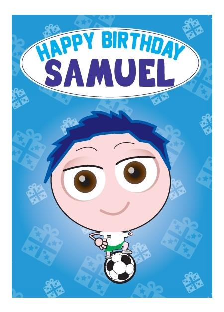 Birthday Card - Samuel