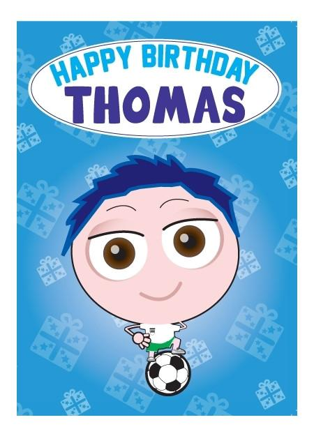 Birthday Card - Thomas