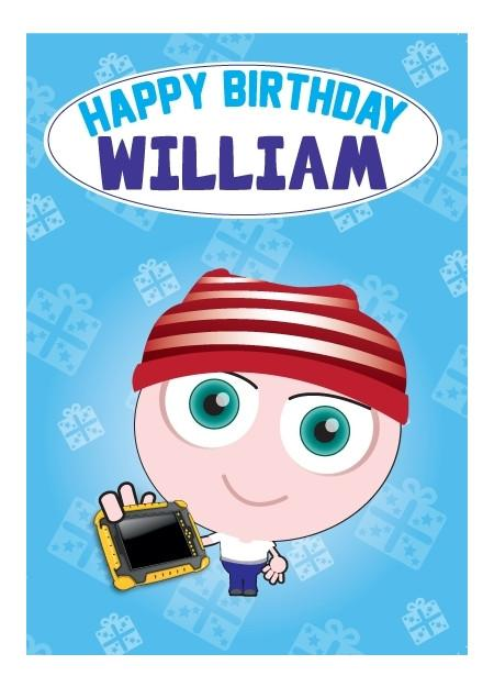 Birthday Card - William