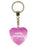 100% Gorgeous Diamond Heart Keyring - Pink