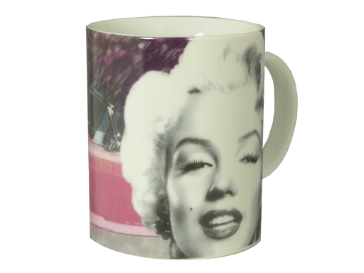 Marilyn Monroe Car Design Mug