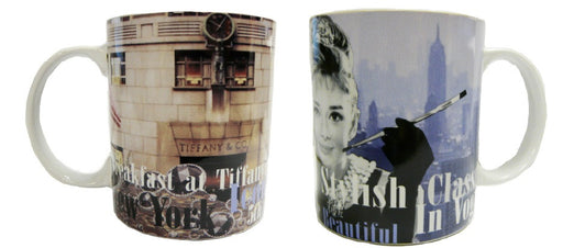 Audrey Hepburn Mug - Multi Images Design