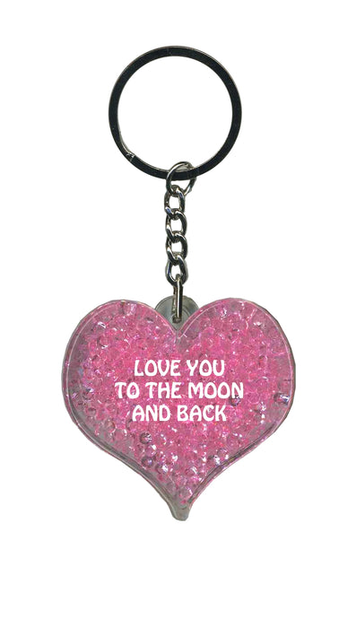 Love You To The Moon & Back Itzy Glitzy - Pink