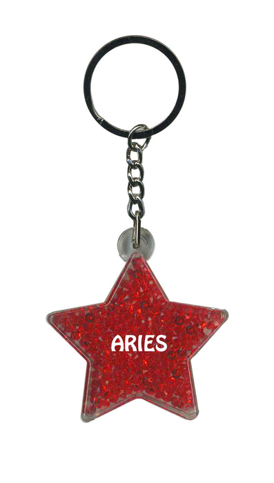 Aries Itzy Glitzy Keyring - Red