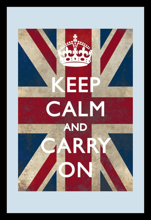 Keep Calm Union Jack  Mirror