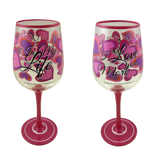 Pack of 2 Lennon & McCartney Wine Glasses