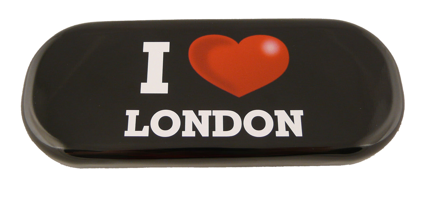 Black- I Love London Glasses Case
