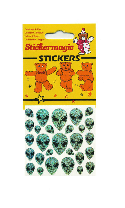 Maxi Prismatic Stickers - Aliens