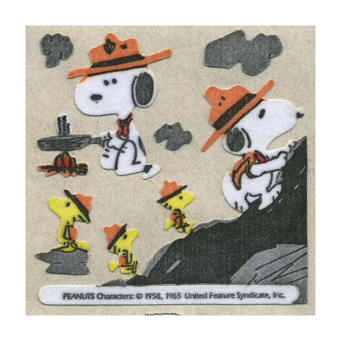 Maxi Stickers - Snoopy the Scout