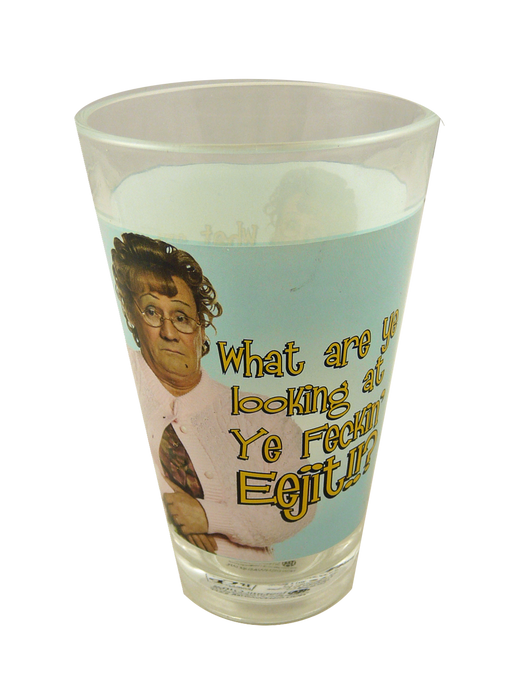 Mrs Browns Boys Half Pint Glass - Eejit