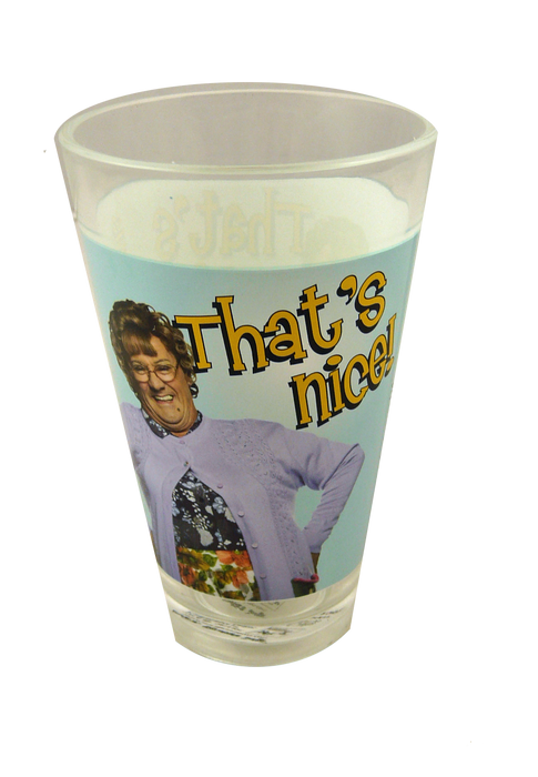 Mrs Browns Boys Half Pint Glass - That's Nice
