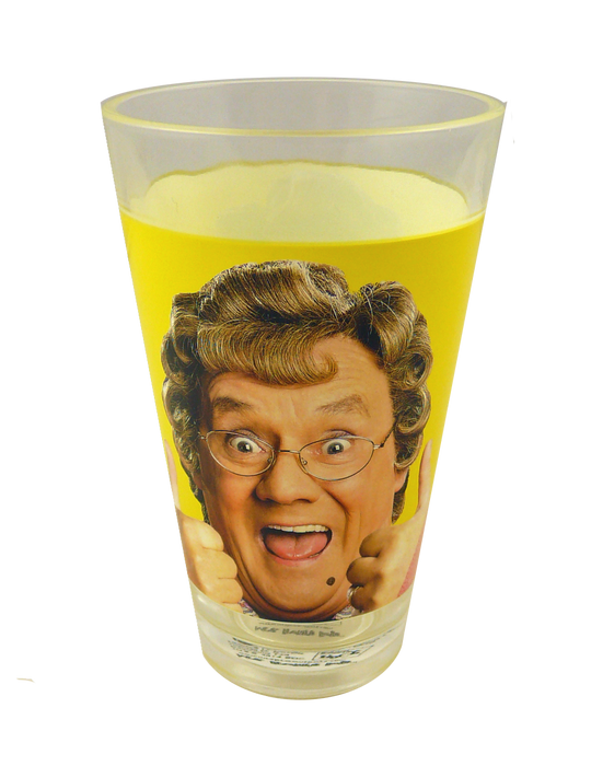 Mrs Browns Boys Half Pint Glass - Thumbs Up