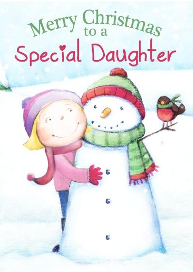 Christmas Card - Special Daughter